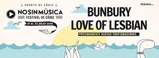 Love of lesbian al No sin música festival