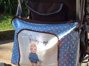 bolsa celeste chocolate para Maclaren