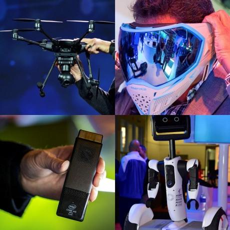 Mejor Drone, Wearable, premios de Intel en el CES 2016 ...