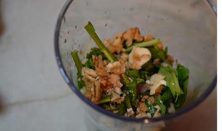 Pesto de rúcula (sin sal)