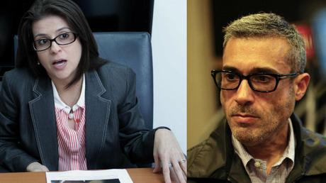 Katia Fábrega y Alfredo