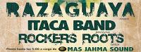 Concierto de Razaguaya, Itaca Band y Rockers Roots