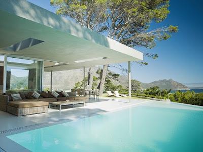 Villa Contemporanea en Camps Bay