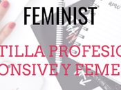 Plantilla Profesional Responsive para Blogger: Feminist