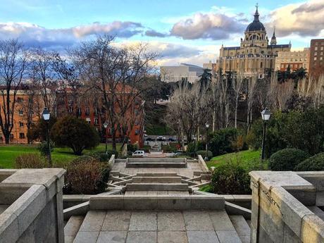 La postal de la semana: Madrid desde la Cuesta de los Ciegos