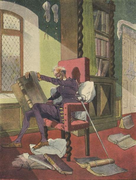 Inscripción Lectura ilustrada Don Quijote