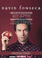 Conciertos de David Fonseca en Madrid y Barcelona