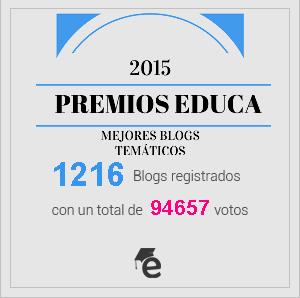 Anunciados los blogs ganadores de los Premios Educa 2015