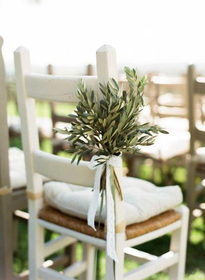 decoracion ceremonia boda olivo
