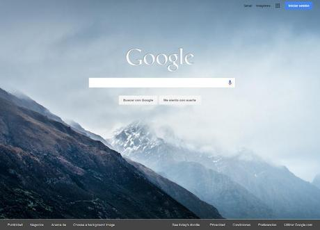 Fondos para Google Homepage