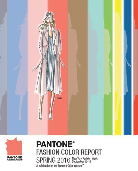 Análisis de los colores para esta Primavera – Verano 2016 según Pantone