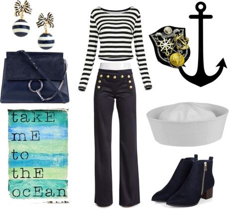 Disfraz casero de marinera paperblog - Disfraz de marinero casero ...