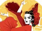 Doodle anivesario nacimiento Lola Flores