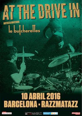 At The Drive-In tocarán el 10 de abril en Barcelona