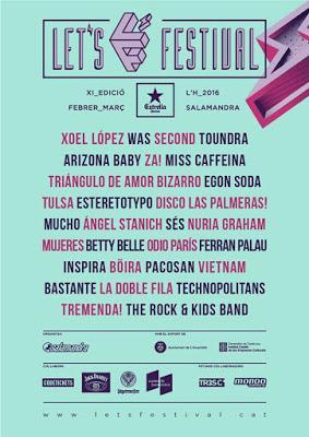 [Noticia] Cartel completo del Let's Festival 2016