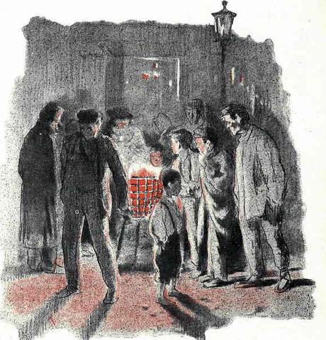 Estufas populares en Madrid. Navidad de 1901