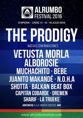 AlRumbo Festival 2016: Vetusta Morla, Alborosie, Bebe, Muchachito, Shotta, Dremen, Capitán Cobarde...