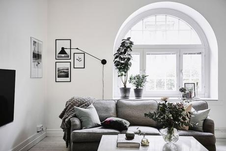 Como decorar una casa blanca y gris paperblog - Como amueblar una casa ...