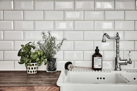 Como decorar una casa blanca y gris paperblog - Azulejos cocina blanco brillo ...