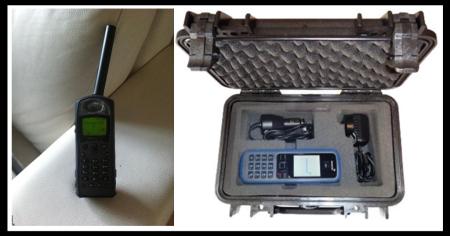 Telefono satelital del chapo Guzman