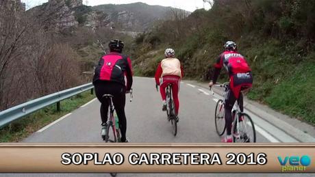 Soplao carretera 2016 homenaje a exciclistas