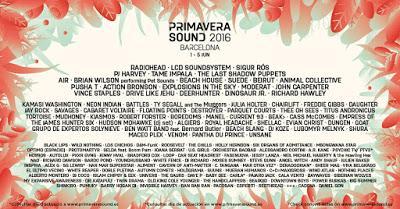 [Noticia] Brian Wilson, Radiohead y Los Chichos en el cartel del Primavera Sound