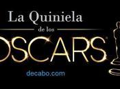 Quiniela Oscars 2016