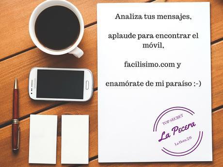 Analiza tus mensajes, aplaude para encontrar el móvil, facilisimo.com y enamórate de mi paraíso