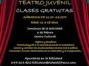 Teatro para jóvenes Aldea Fresno