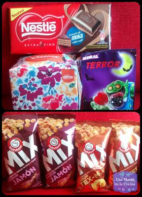 Nestle Moka, Kleenex, Pica-Pica Sidral y Matumix