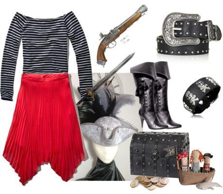Disfraz casero de pirata para chica Paperblog