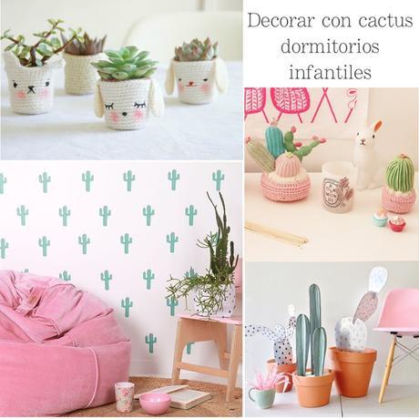 Decorar con cactus habitaciones infantiles paperblog - Decorar habitaciones infantiles ...