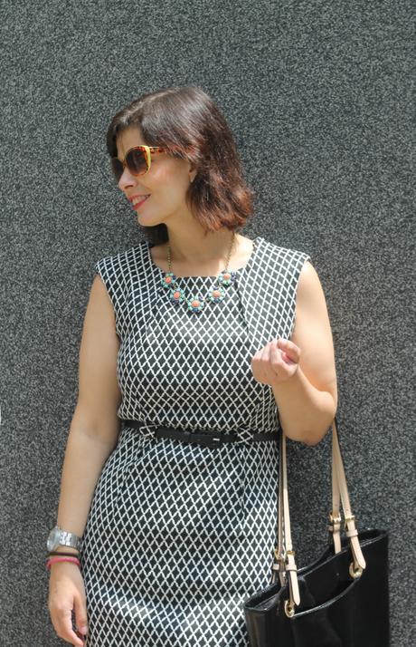 Mis Looks - Vestido Blanco & Negro