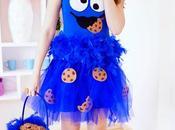 Disfraz fácil monstruo galletas