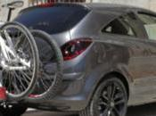 funciona sistema Flex Opel para transportar bicicletas