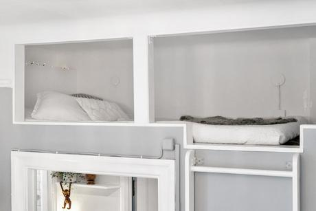 high bed livingroom