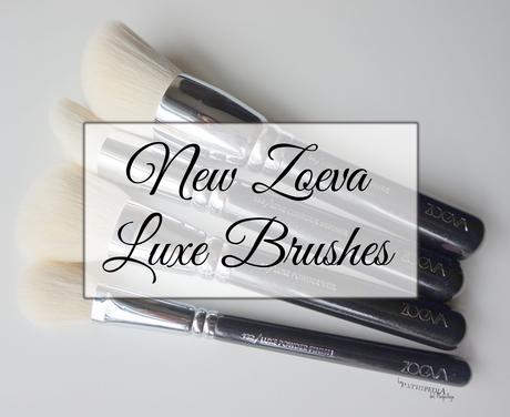 New Zoeva Luxe Brushes