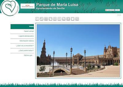 Parque de Maria Luisa (Visita virtual y en 3D)