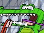 colaboraciones: cocodrilo dientes brillantes.