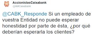 La indefensión del empleado: Acuamed y CaixaBank