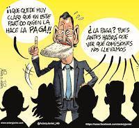 """Esta España nuestra: La corrupción galopa y la vida política se ensucia. Esta """"mujer del César"""" ni es honrada ni lo parece"""