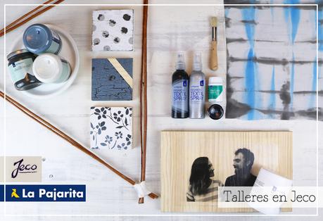 Talleres GRATIS Chalk Paint + Foto Transfer + Textiles