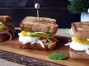 Sandwich gluten cangrejo mango