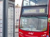 Londres paradas Autobús Solares Andalucia