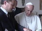 Papa Francisco,recibe Leonardo DiCaprio