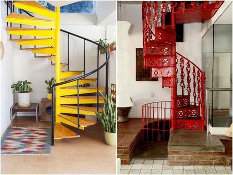Elige la mejor escalera de caracol para interiores paperblog - Modelos de escaleras de caracol para interiores ...