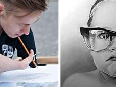 Dibujos realistas artista brazos