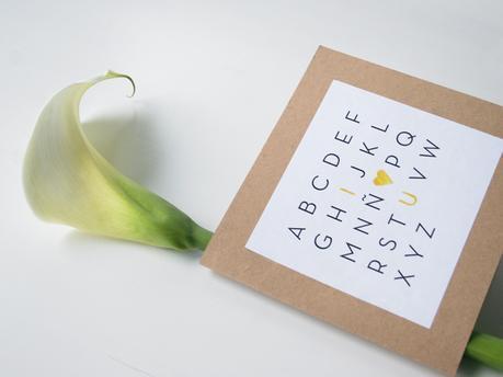 Descargable abecedario San Valentín