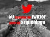 cuentas twitter debes seguir eres arqueólogo