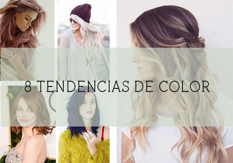 8 tendencias de color para el pelo - Paperblog